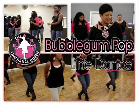 The Line Dance Queen and The Royal Court presents TLDQ's own, BubbleGum Pop Line Dance. This line dance was created by The Line Dance Queen for all you hip hop lovers who enjoy doing line dances to hit hip hop songs (try saying that 3x;'s super fast)..lol