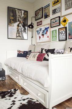 Las 25 mejores ideas sobre dormitorio de joven varon en - Cojines para dormitorios juveniles ...