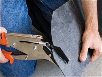 Slate tile cutter with hole punch $57.61