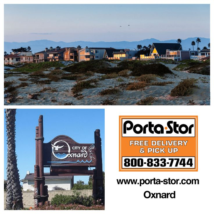 Rent Portable Storage Containers in Oxnard 18008337744