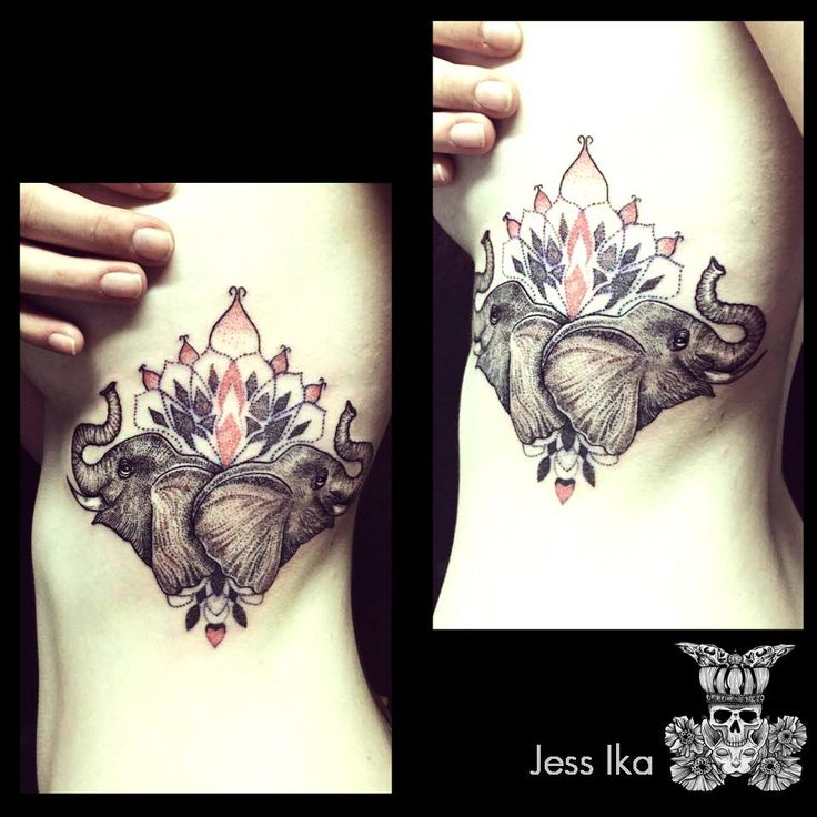 Elephant tatouage