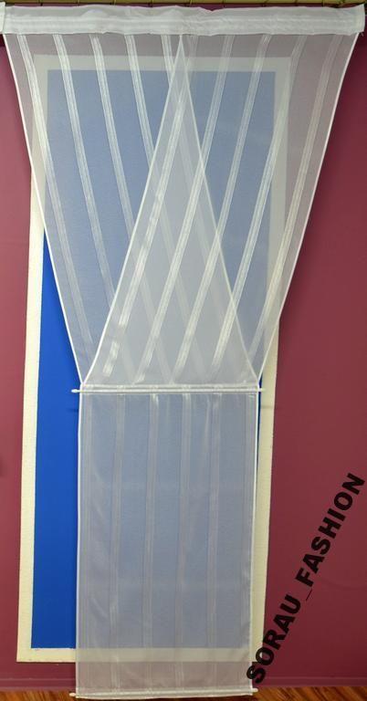 Firana V-ka batyst balkon FZ146 (6295557106) - Allegro.pl - Więcej niż aukcje.