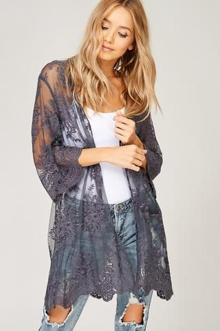 Just A Thought Thermal Top – Gypsy Outfitters - Boho Luxe Boutique