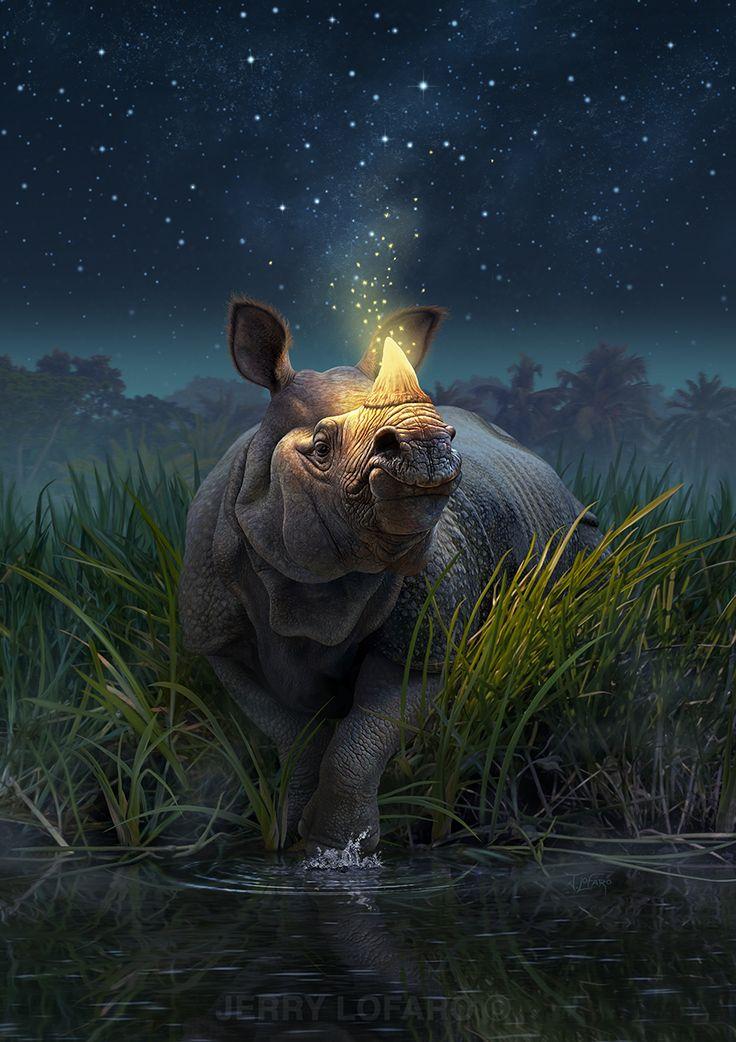 Rhinoceros Unicornis by Jerry LoFaro | Fantasy | 2D | CGSociety