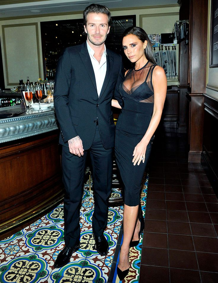 Victoria Beckham Flaunts Cleavage With Husband David Beckham in Sexy Little Black Dress From Her Own Line | SHOPPING NEWS