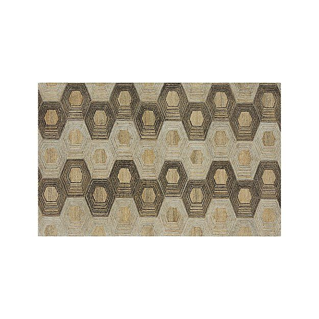 Gramercy 5'x8' Rug | Crate and Barrel