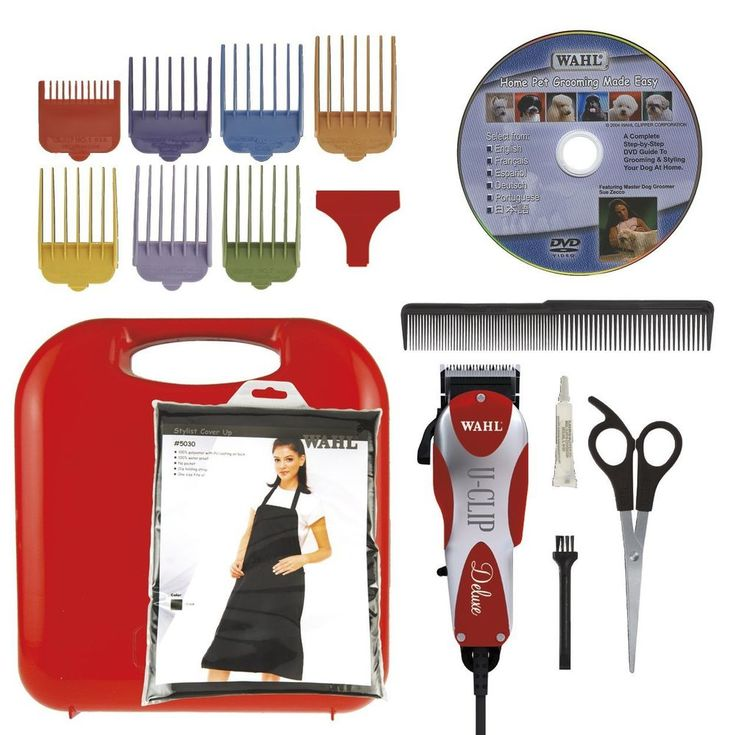DELUXE - PROFESSIONAL PET GROOMING KIT - Clipper Trimmer Animal Powerful Quiet
