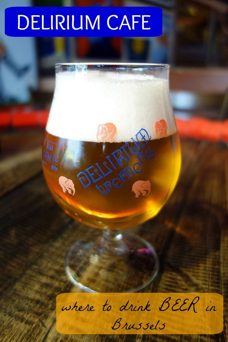 Delirium Cafe: Where to drink BEER in Brussels - Sunny in London #beer #brussels #belgiumbeer #delirium #whattodoinbrussels