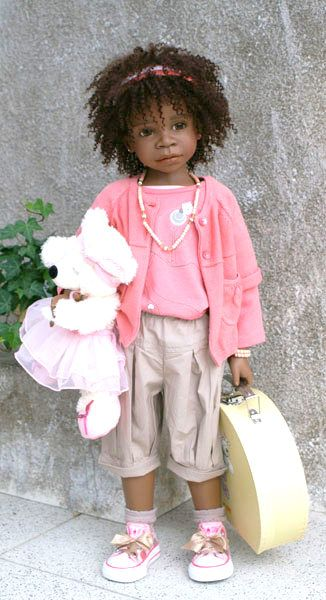 Naturally Beautiful Hair: Dolls by Angela Sutter & Annette Himstedt