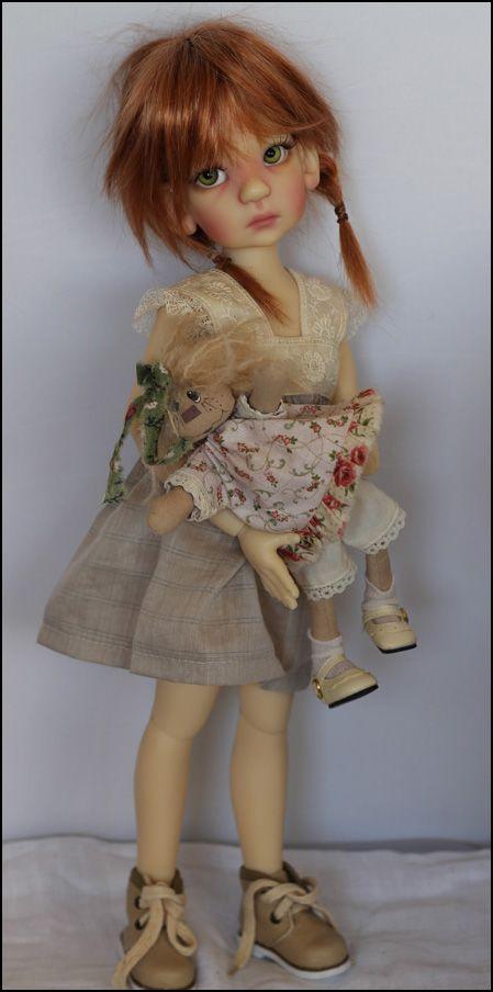 JpopDolls.net ™::Dolls::Kaye Wiggs Dolls::Essie::Essie Human in Fair Skin (PREORDER)