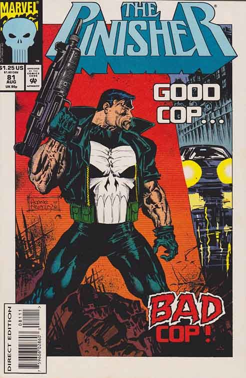 Punisher Comic Book Covers