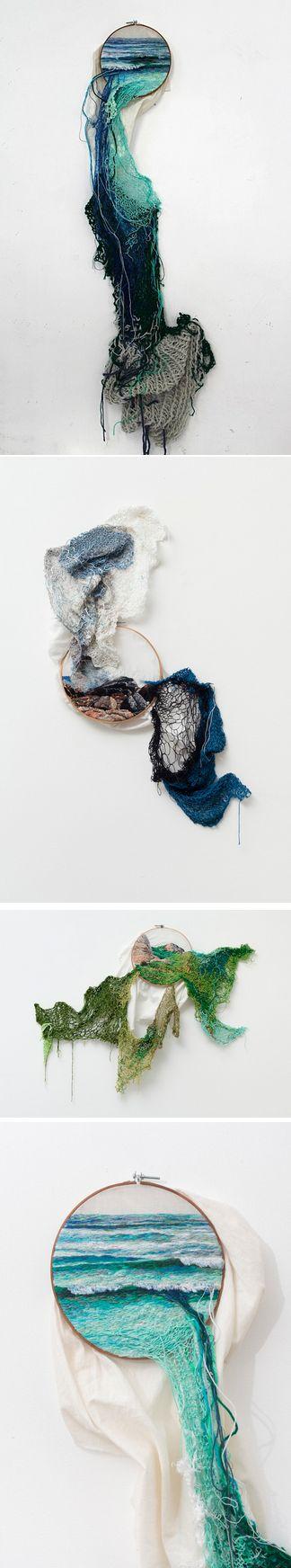 Embroidery by Ana Teresa Barboza