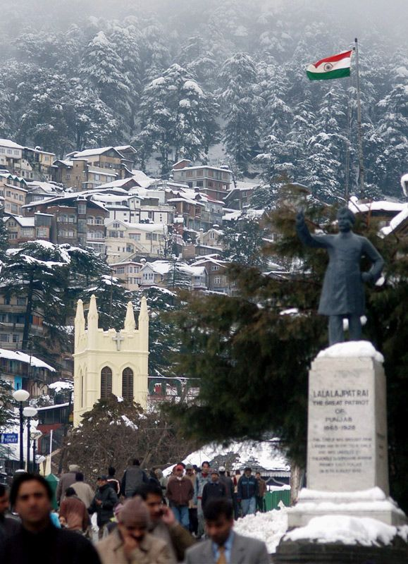 Indian Winter, Shimla, Himachal Pradesh, India Copyright: Anjan Mitra
