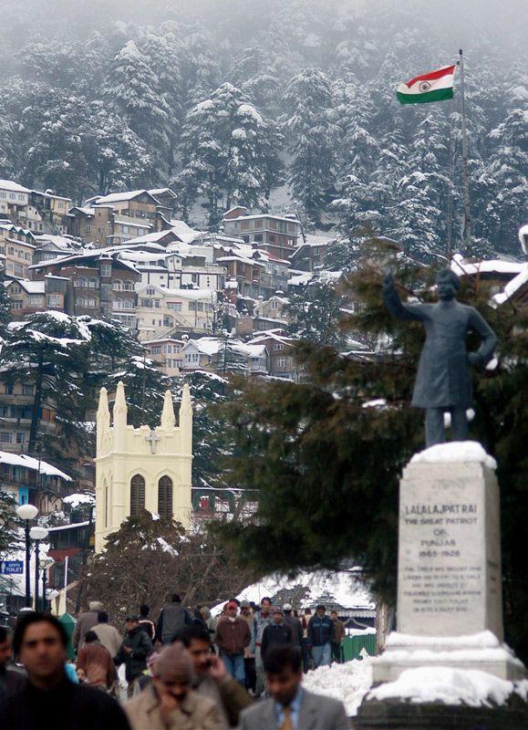 Indian Winter, Shimla, Himachal Pradesh, India Copyright: Anjan Mitra