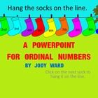 Interactive Powerpoint for Ordinal Number work