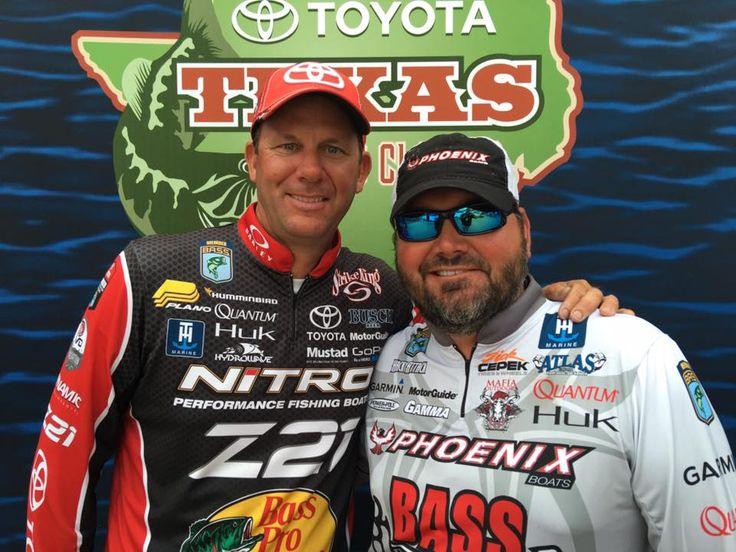 KVD & Greg Hackney at the Toyota Texas Fest Bass Classic- May 21,2016