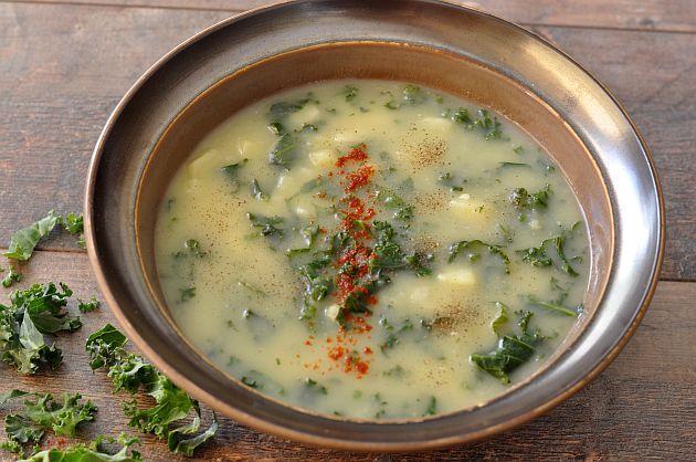 Zupa Caldo Verde wegańska