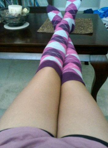 Sock....Socks...Socks! I love my socks M. Cales