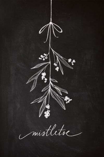 Miss Dixie: Christmas Chalkboards + Printables Roundup