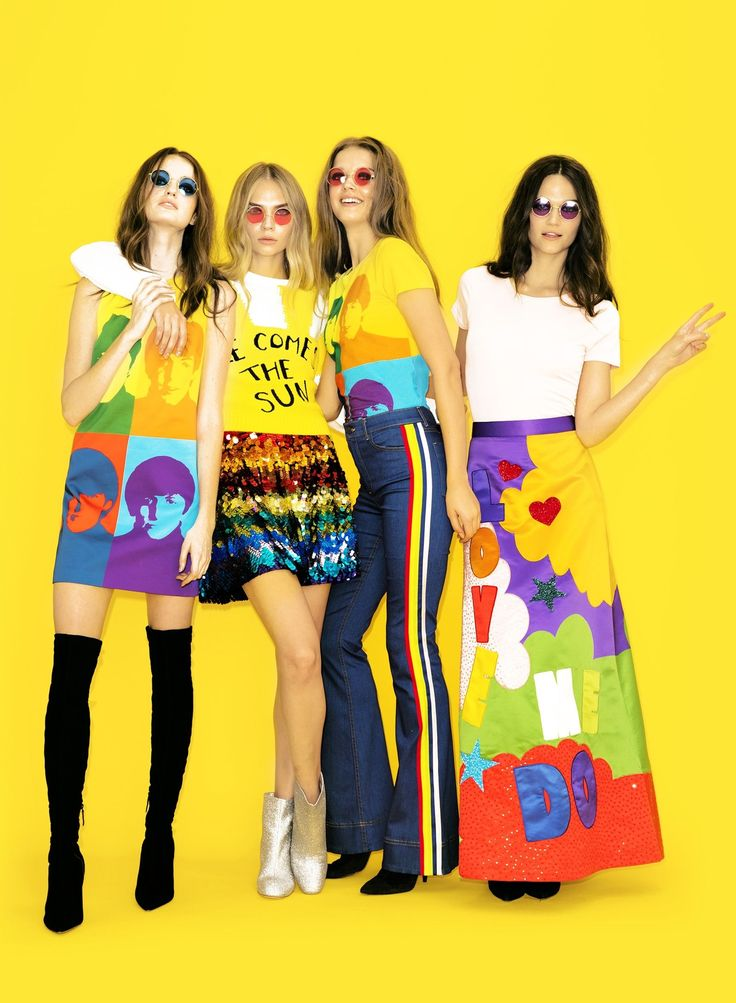 All You Need Is Alice + Olivia's The Beatles Collection  - HarpersBAZAAR.com