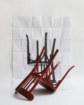 Chaise renversée