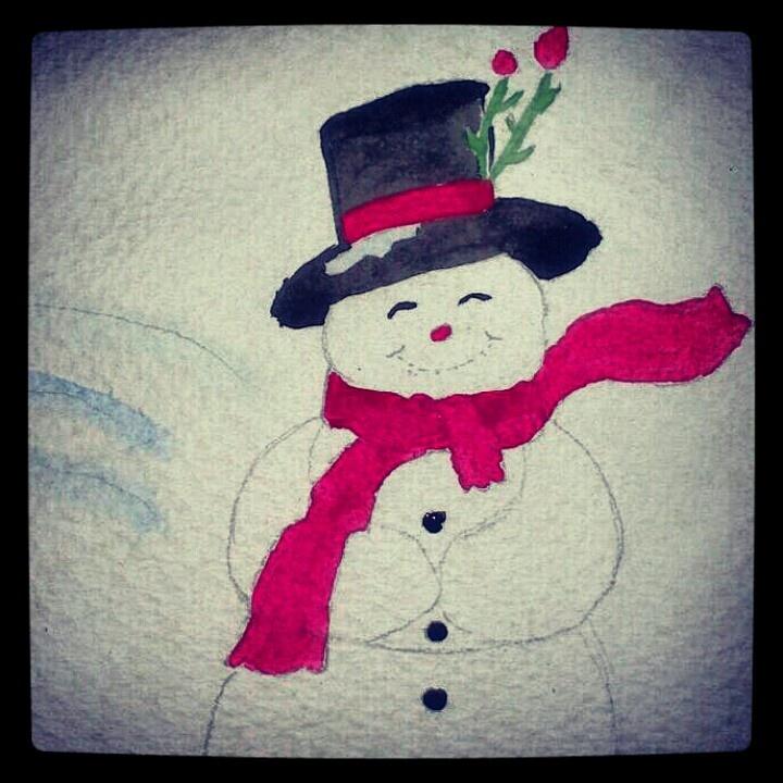 Mi hombre de nieve