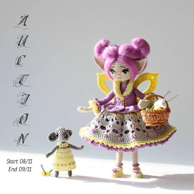 🔸Открытый аукцион по продаже каркасной куклы ручной работы Марахармэ (Хлопок, рост 18 см) 🔸Начальная цена -10 $ 🔸Шаг аукциона -3$ 🔸Начало -8 ноября  в 20:00 час.(Московское время(+3GMT)) 🔸Окончание -9 ноября  в 20:00 час. (Московское время(+3GMT)) 🔸Аукцион проводится по принципу состязательности.  Победитель аукциона приобретает Марахармэ 🔸Ставка должна превышать лучшую ставку, на величину шага аукциона. Время аукциона продлевается от времени окончания 20:00 час. (Московское…