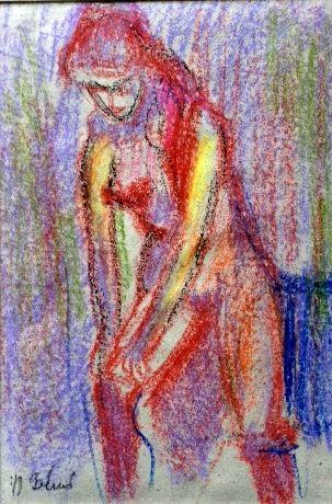 Konrad Biro childhood drawing