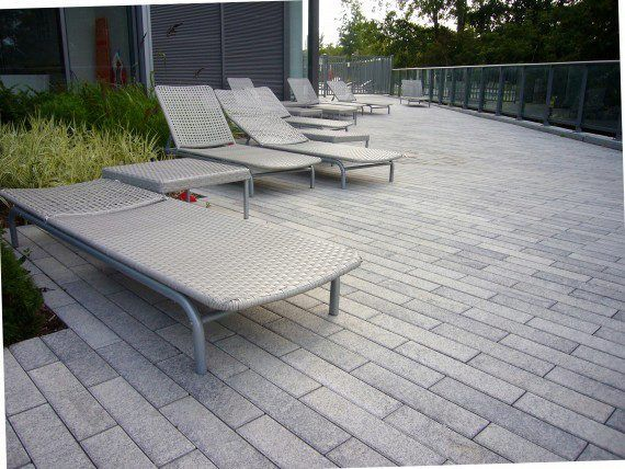Unilock - South Beach Condos with Umbriano paver in Ontario
