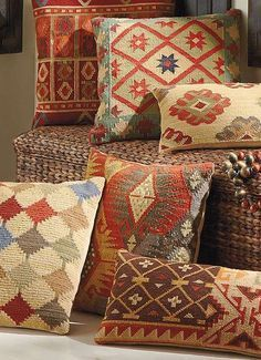 Our Kilim Indoor Throw Pillows are timeless favorites.