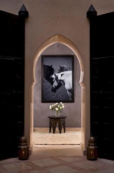 "theiainteriordesign: "" Room Entrance :: Riad Meriem """