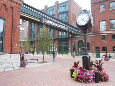 Toronto's Gooderham & Worts - once the largest distillery in the British Empire