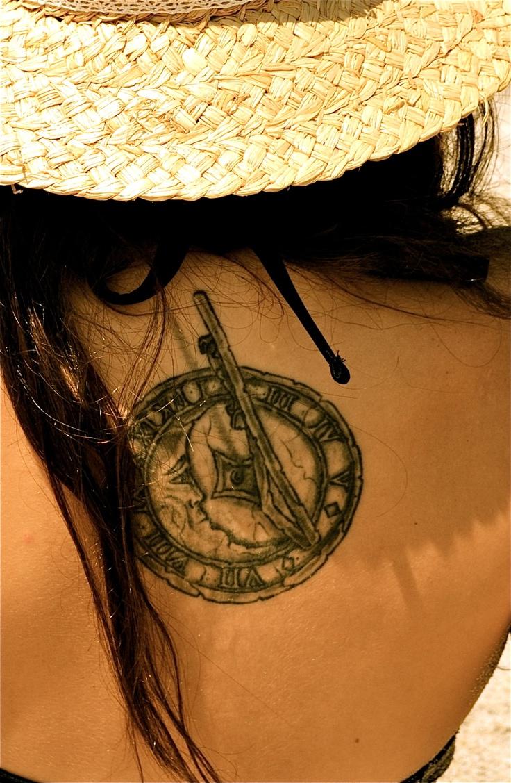 I got my sundial tattoo at atomic tattoo in orlando for Atomic tattoo orlando