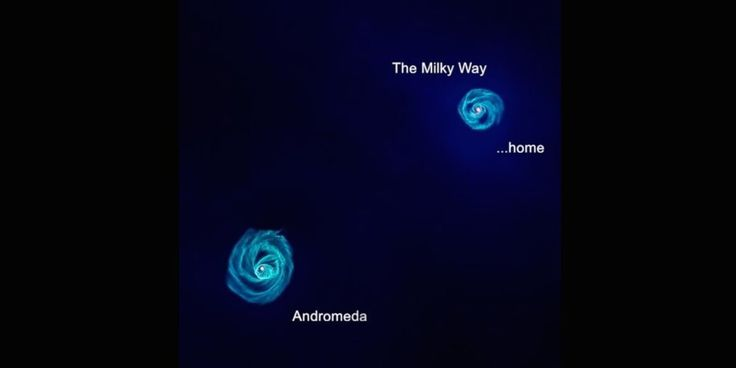 Scientists have long known that the nearby galaxy Andromeda and our own Milky Way galaxy will collide in four to five billion years, but now a new computer simulation (above) from the International Centre for Radio Astronomy Research in Western Austr...