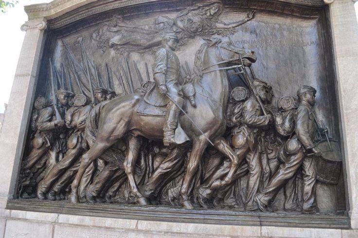 Robert Gould Shaw and 54th. Massachusetts Memorial, Boston, Mass.