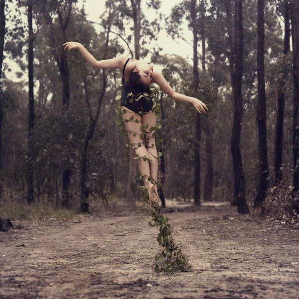 beautiful dance photography | Powerfully Poetic Self-Portraits of a Former Dancer -