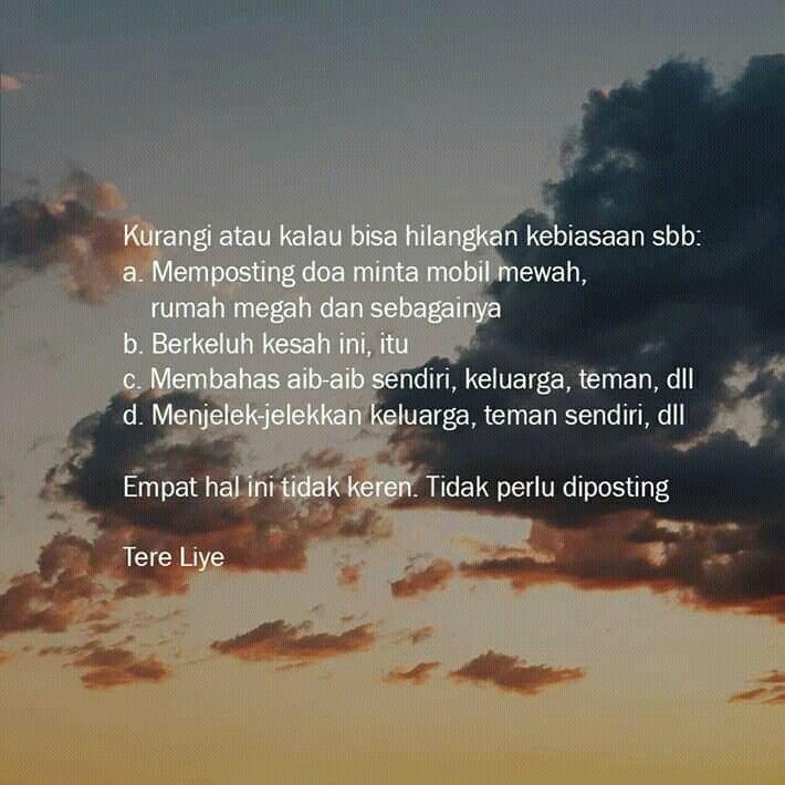 Quotes Tere Liye Empati Doa Rumah Megah