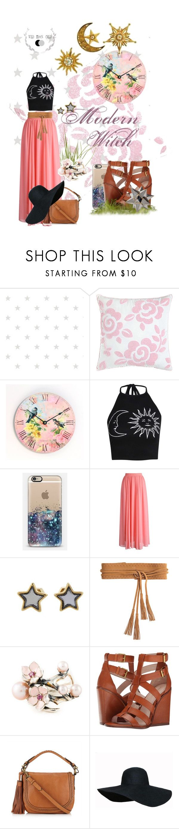 """Modern Witch"" by wildmoonchild ❤ liked on Polyvore featuring Dena Home, WALL, Boohoo, Chicwish, Marc by Marc Jacobs, Linea Pelle, Shaun Leane, Pour La Victoire, Jigsaw and Regina Andrew Design"