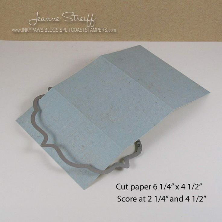 Sizzix Die Cutting Inspiration and Tips: Flip-its Gift Pocket Card