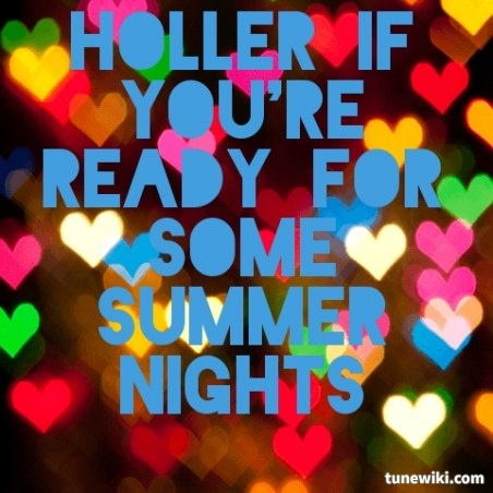 Summer Nights by Rascal Flatts