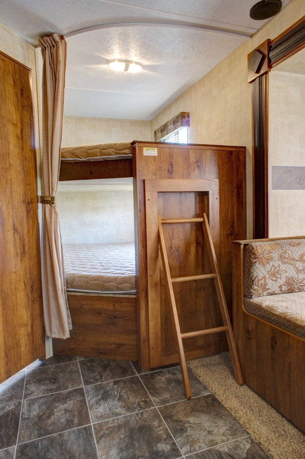 Pin By Lenita Flores On Rv Ladders Toy Hauler Remodeled Campers