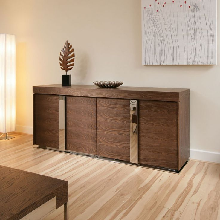 Modern Designer Sideboard Cabinet Buffet In Dark Elm 20mtr 912M