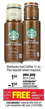 Printable coupons for starbucks iced coffee