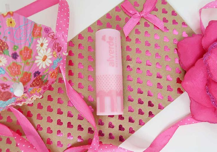 Kauwgombal roze lippen met Bubblegum Pink