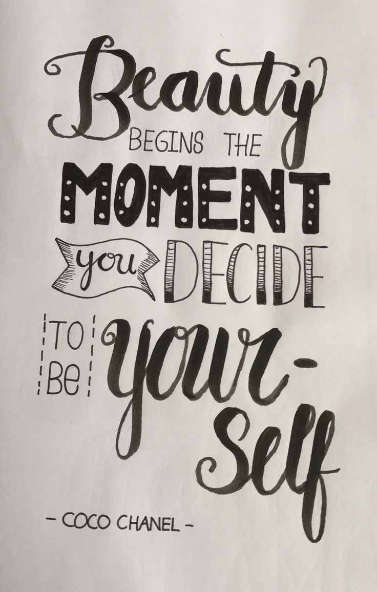 Download Just be yourself | Drawing quotes, Calligraphy quotes ...