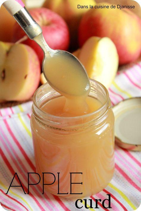 Apple Curd au Thermomix (pourquoi pas pour une tarte à la pomme façon tarte au citron)