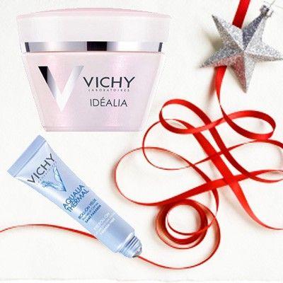 Vichy idealia face cream + aqualia eye cream