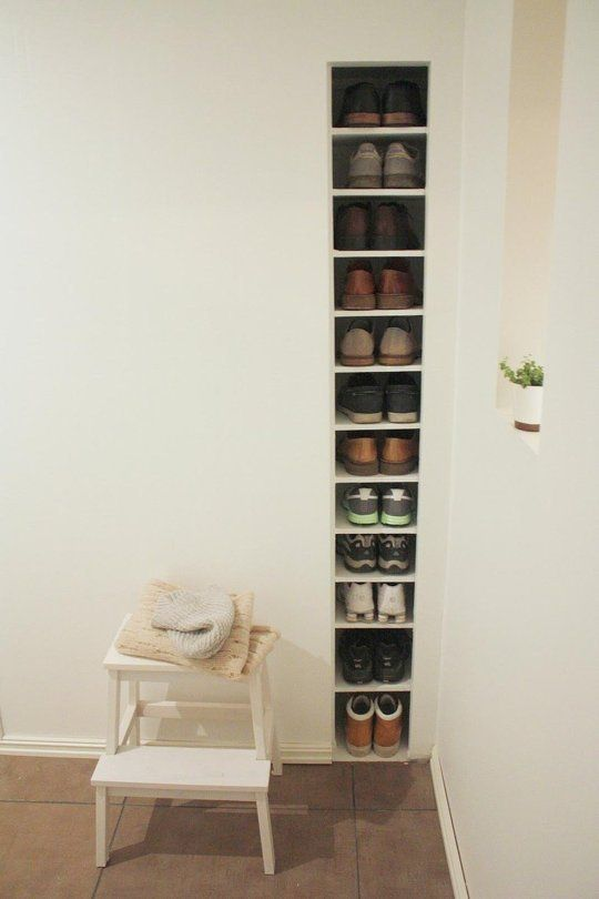 Best 25+ Vertical shoe rack ideas on Pinterest | Shoe cubby ...