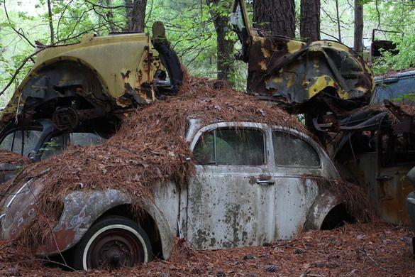 Picker's Heaven! Glad not near my house! OLD CAR CITY– White, Georgia - Atlas Obscura