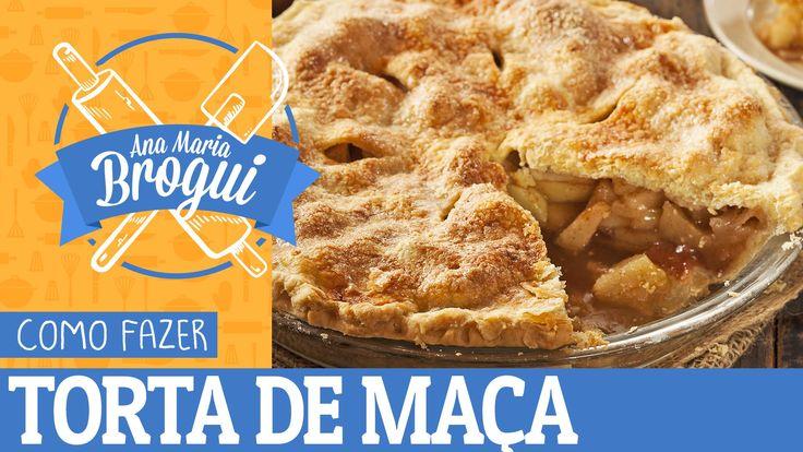 COMO FAZER TORTA DE MAÇA DO FILME AMERICAN PIE | Ana Maria Brogui #129